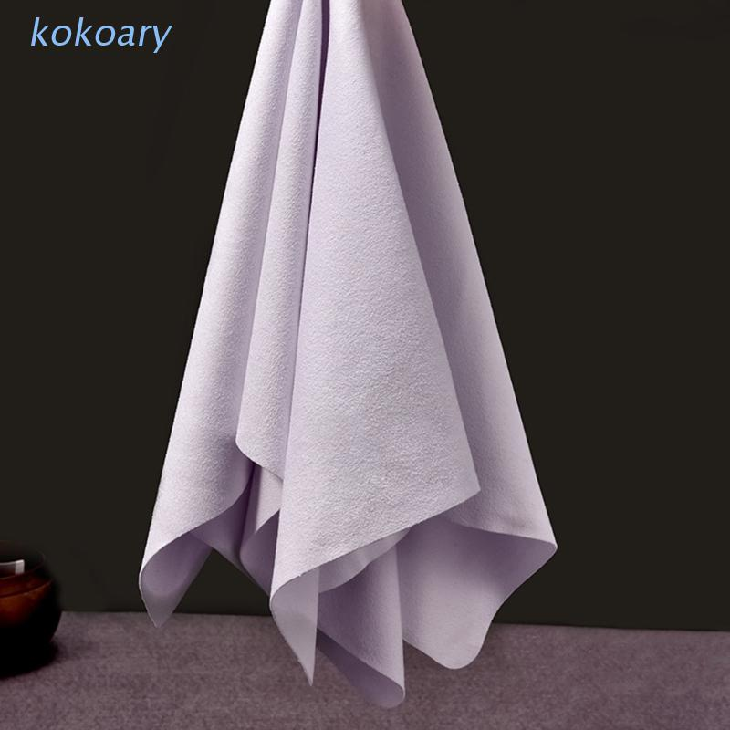 Kok 專業屏幕清潔劑 Chamois 清潔布, 用於眼鏡鏡頭相機 '