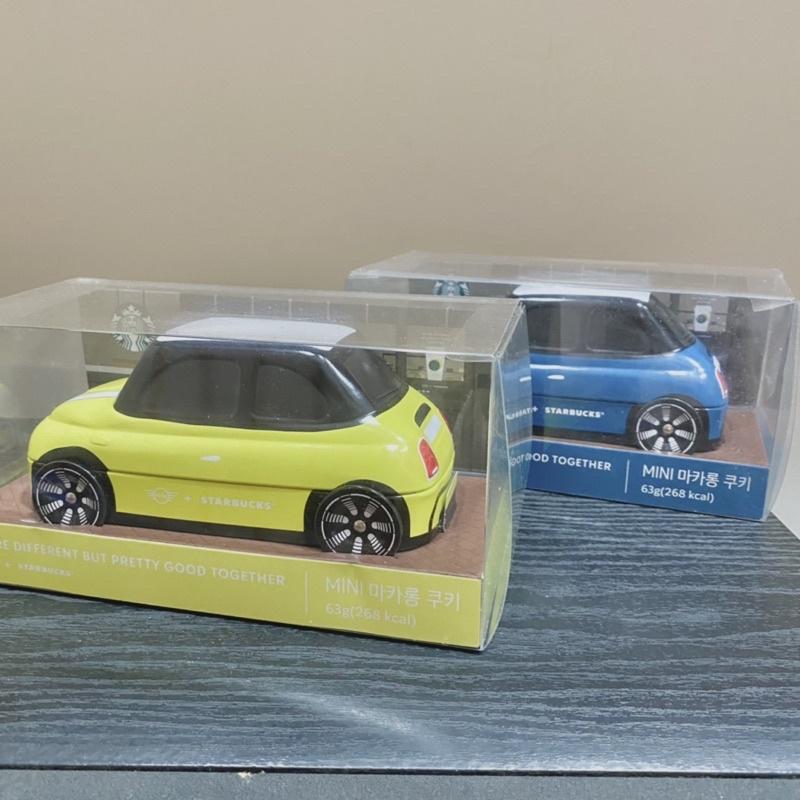 現貨|Starbucks x Mini Cooper 聯名|小車車|餅乾鐵盒