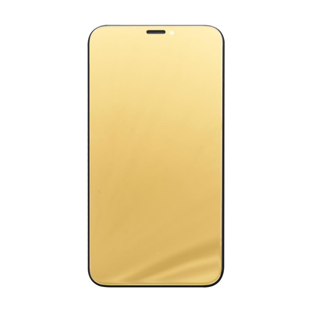 【TOYSELECT】炫彩鏡面滿版iPhone玻璃膜/保護貼