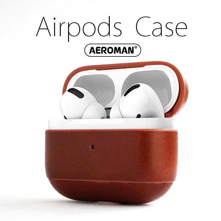 ICARER airpods pro 防摔 皮革保護套 掛鉤版 apple airpodspro保護套