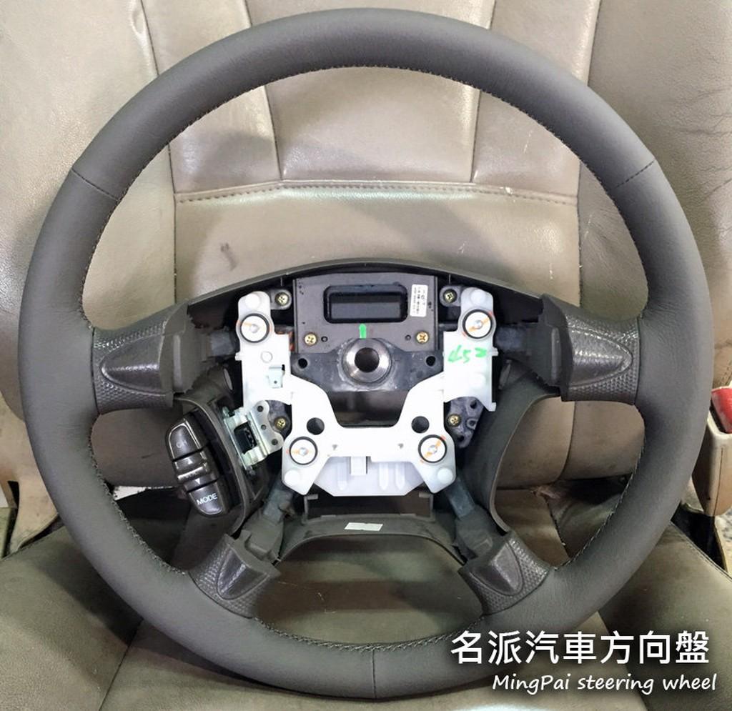 【名派汽車方向盤】Honda 二代CRV 方向盤 手工縫製 牛皮翻新 原廠縫法/Civic 喜美 FIT K6 K8