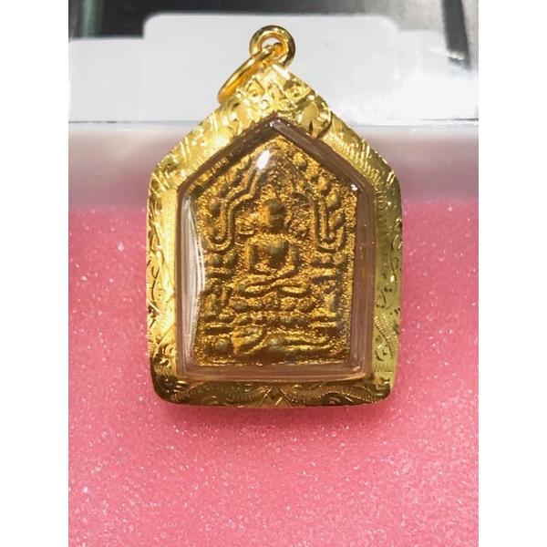 (喜歡歡迎私訊聊聊)龍婆薩空最具代表性的坤平 龍婆薩空2543金面小模派古曼坤平