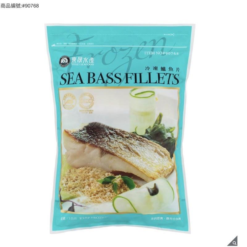 Costco 好市多 東晟 冷凍金目鱸魚 鱸魚排 鱸魚片 1公斤