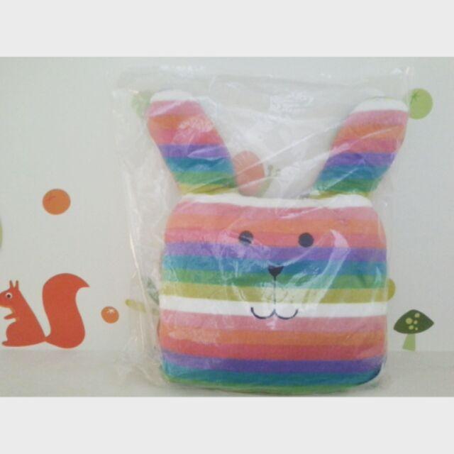 CRAFTHOLIC宇宙人 夏威夷彩虹兔大靠枕