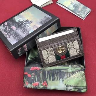 【X】現貨GUCCI卡夾 Ophidia GG Card 名片夾 古馳 短夾 卡包 597617 gucci 卡片夾