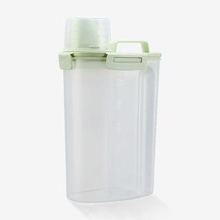 【2.5L】升級四密封扣米桶 密封罐 飼料罐 保鮮罐 01628 隨機出貨 彰化縣