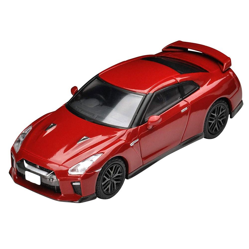 TOMYTEC LV-148d 日產 GT-R 2017 model (紅)