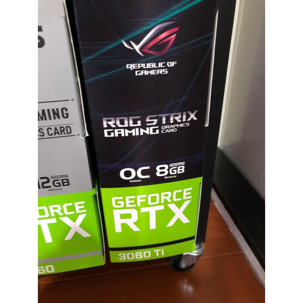 ASUS RTX 3060TI 3060 TI ROG 三風扇 未鎖算力 挖礦 以太幣