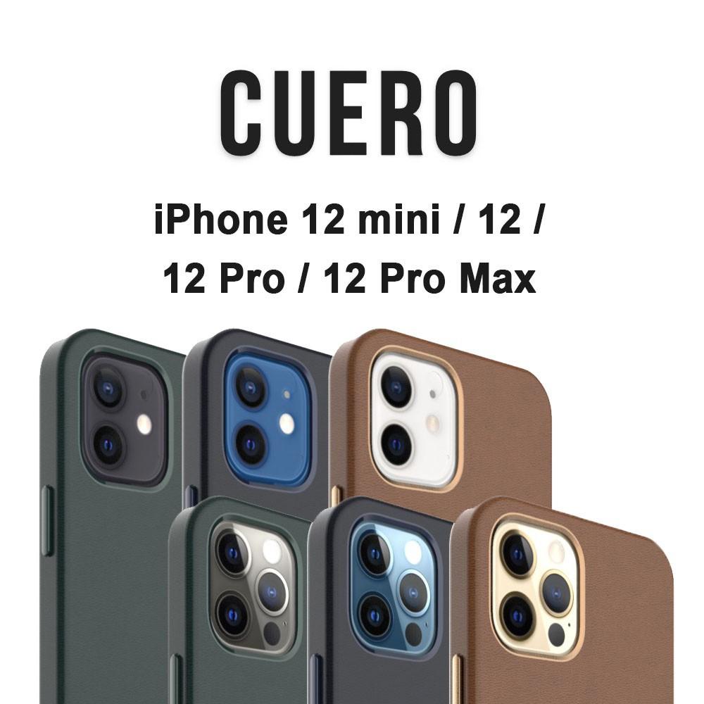 UNIU CUERO 皮革保護殼 iPhone 12 11 系列 手機殼 防滑防摔同原廠皮革簡約