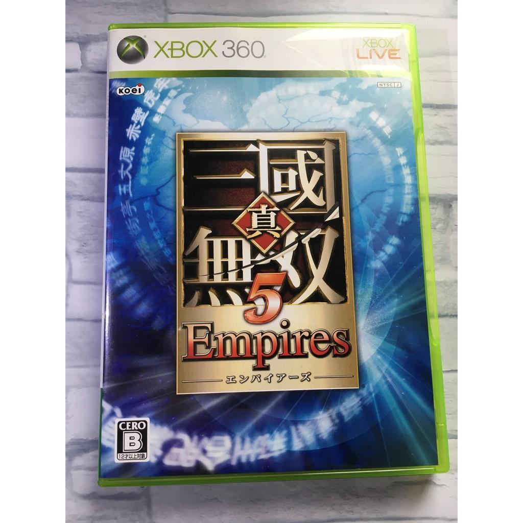 【日本直送】二手 日文版 XBOX360 真三國無雙5 帝王傳 Empires