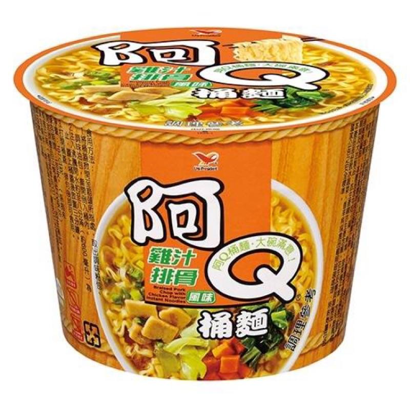 任選5箱免運阿Q桶麵(雞汁排骨)一箱/12碗