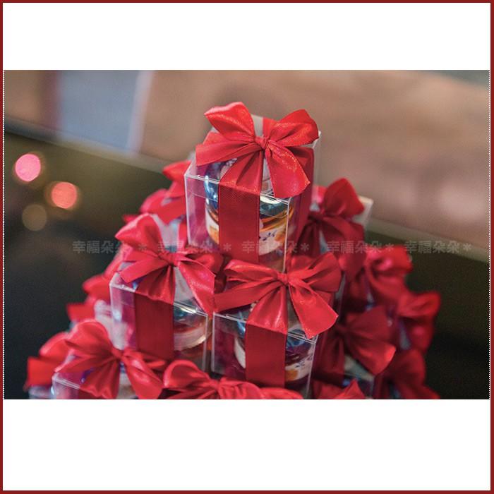 甜蜜蜜「透明盒裝」瑞士進口hero蜂蜜小禮盒 x 30盒 (紅色緞帶)