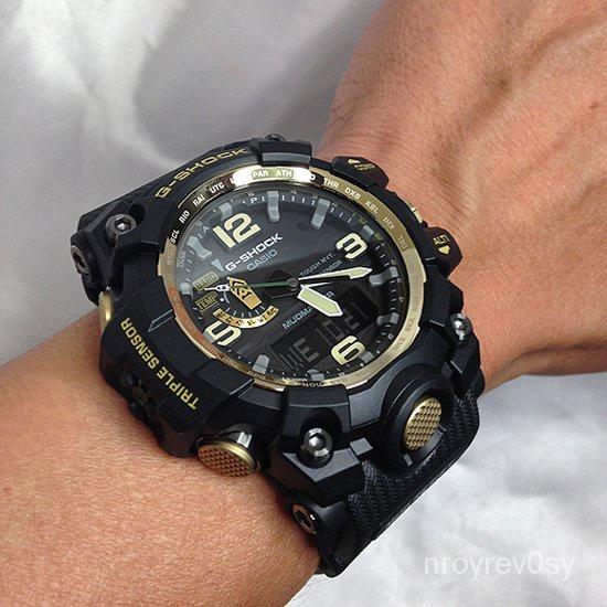 行貨卡西歐手錶男黑金GWG-1000GB-1A/4A/1A3大泥王電波錶G-SHOCK
