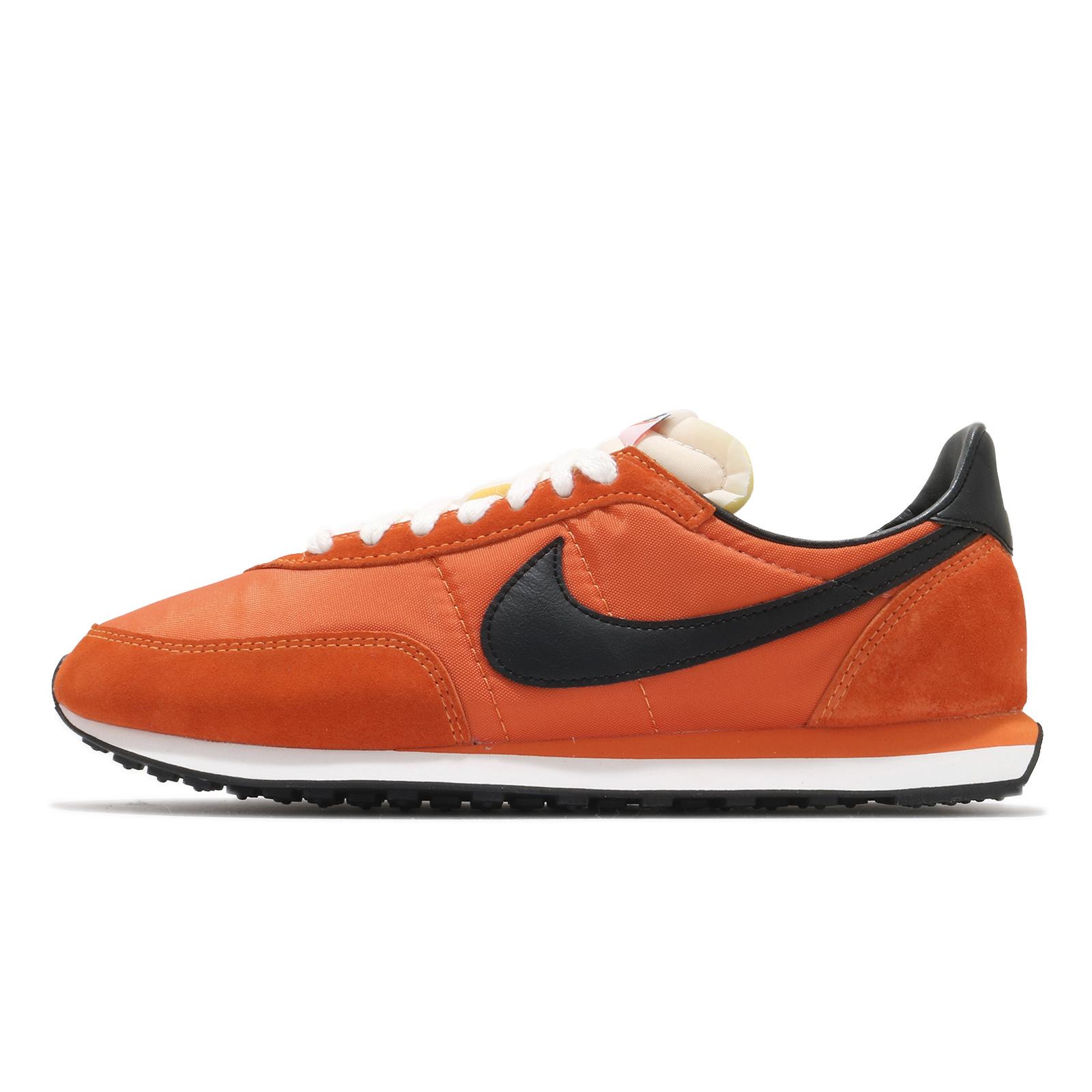 Nike 休閒鞋 Waffle Trainer 2 SP 橘 黑 男女鞋 復古慢跑鞋【ACS】 DB3004-800