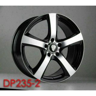 DP235 18吋5-112黑車面鋁圈 其他尺寸歡迎洽詢 價格標示88非實際售價 洽詢優惠中