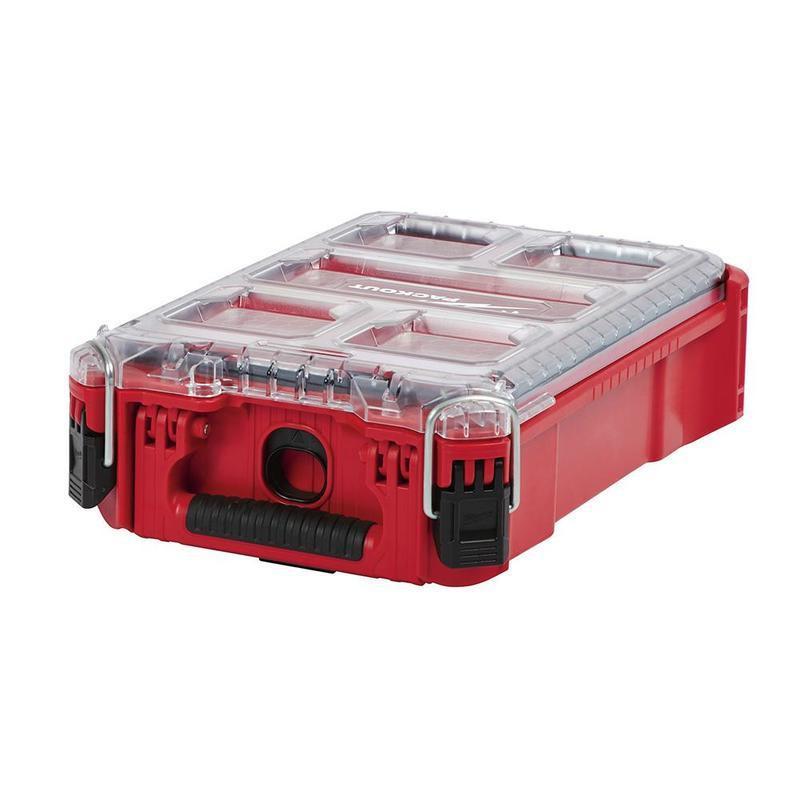 ∞沙莎五金∞Milwaukee 米沃奇 美沃奇 48-22-8435 配套智能收納箱(小) 可堆疊 工具箱 零件盒