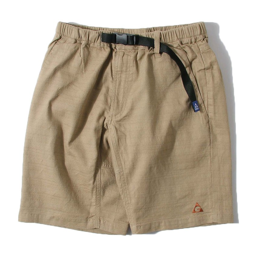 GERRY OUTDOORS 76330-95 Baniran Shorts 棉麻透氣 短褲 (卡其) 化學原宿