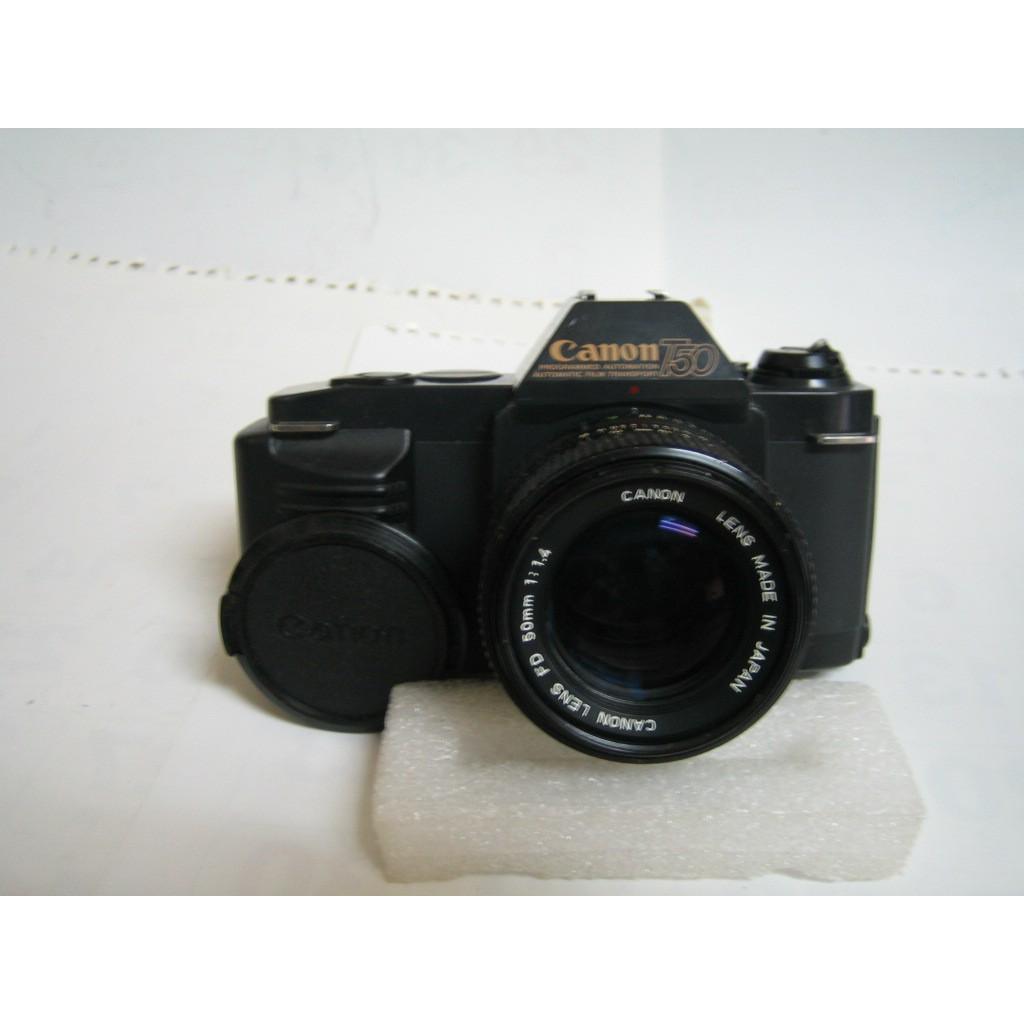CANON T50底片單眼相機 原廠標準鏡頭 F1.4