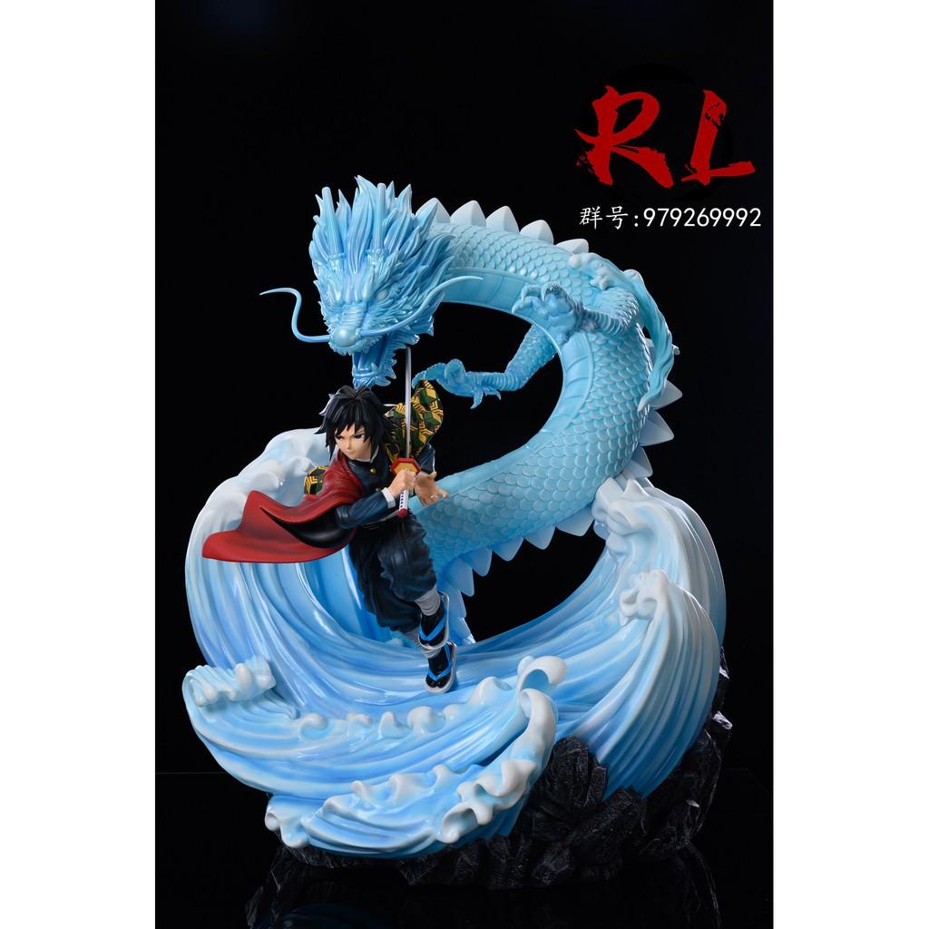 希模型★ 2021年 第一季 RL 工作室 鬼滅之刃 九柱:水柱 富岡義勇 GK雕像 訂金:4250