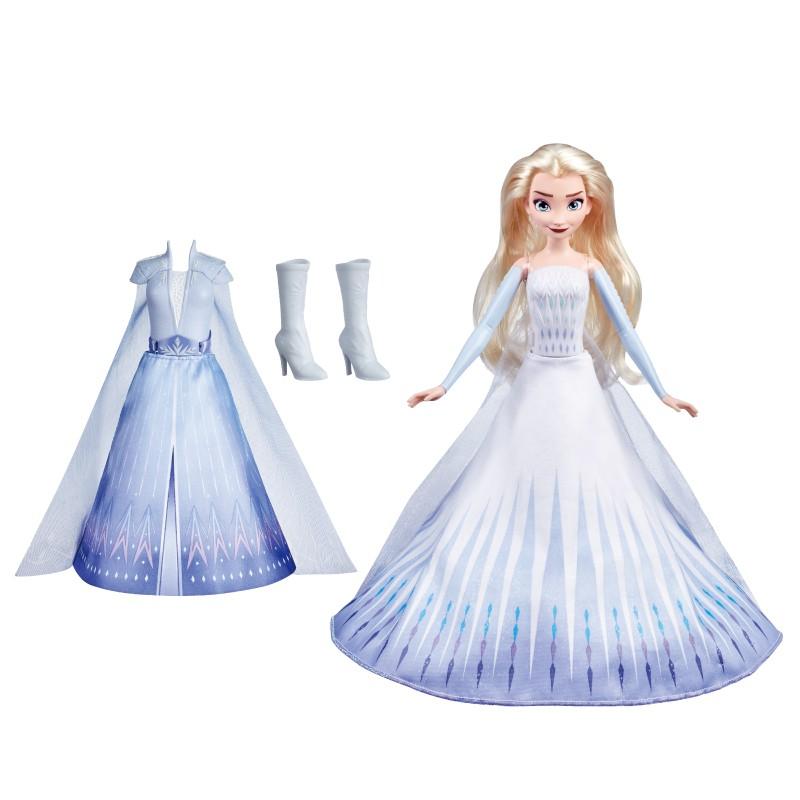 冰雪奇緣2Frozen艾莎公主變裝組 玩具反斗城