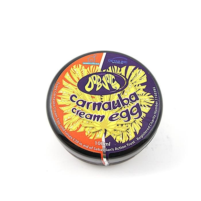 英國 Dodo juice Carnauba cream egg 100ml(Dodo雞蛋棕櫚蠟)100ml 好蠟