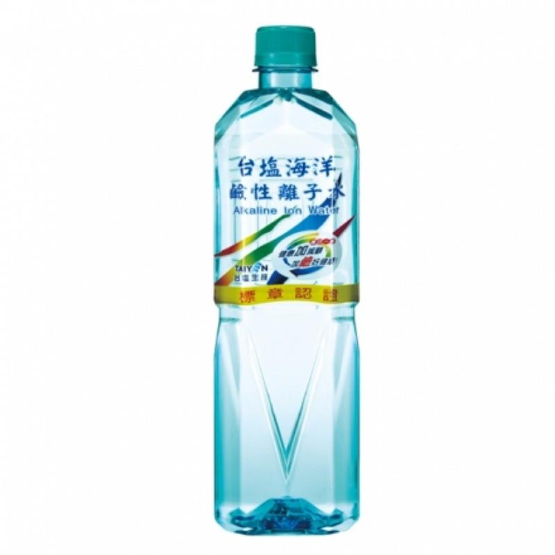 台鹽 海洋鹼性離子水 600mlx24瓶/箱