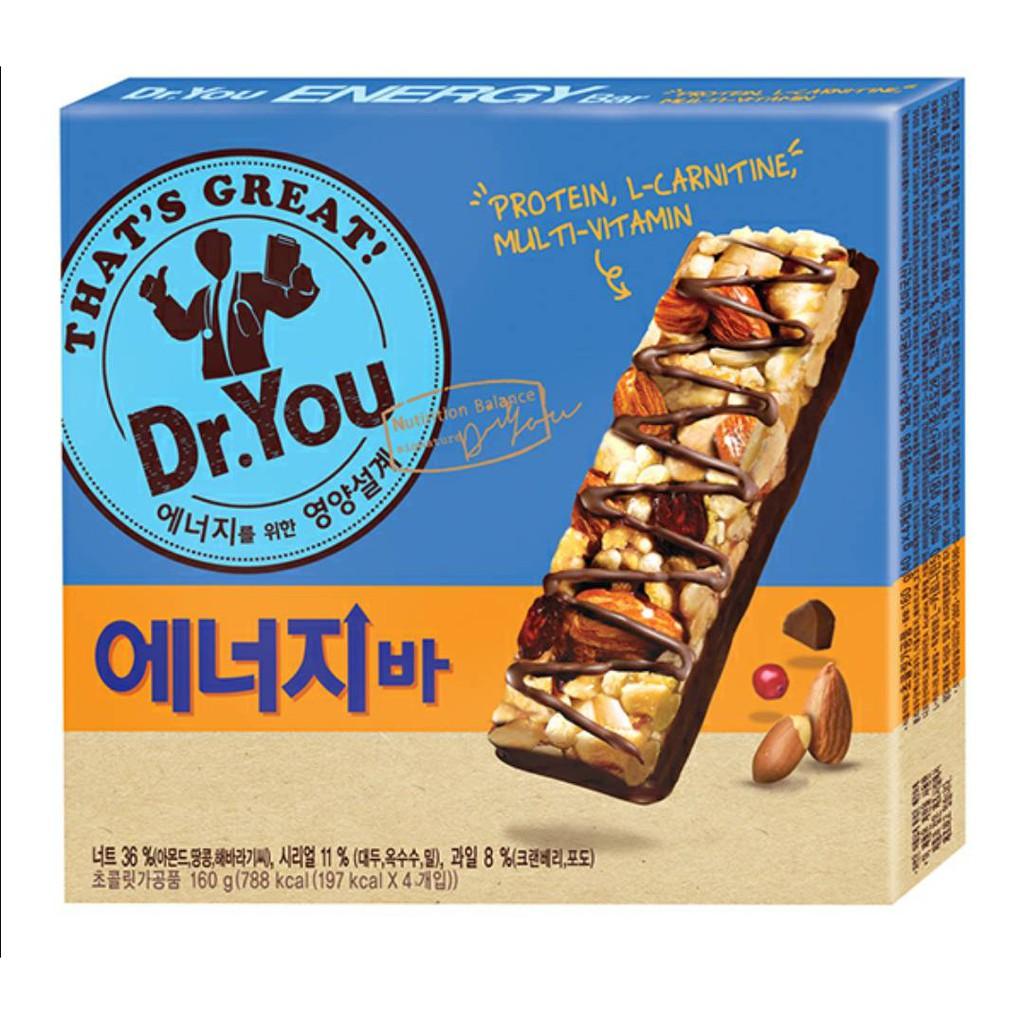 韓國代購 Dr. You 低卡巧克力能量棒