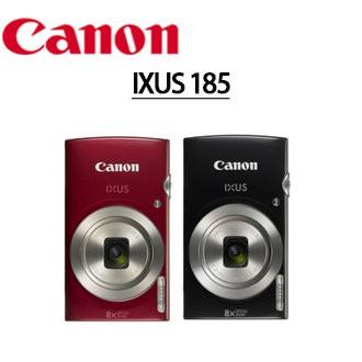 Canon 佳能 IXUS系列 185 輕薄隨身數位相機 8倍光學變焦 2000萬畫數 台灣公司貨