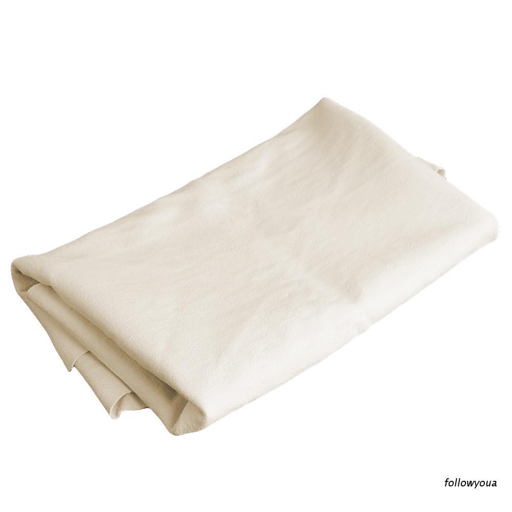 Folღ 天然 Shammy Chamois 皮革汽車清潔毛巾乾洗布新