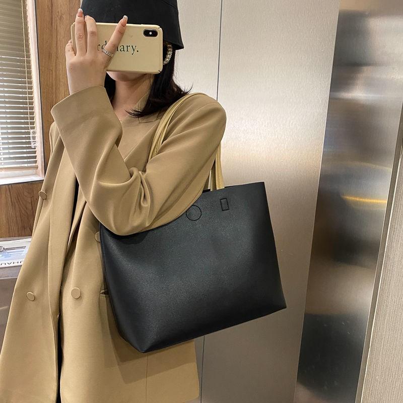 出門必備包包包包女大容量單肩斜挎托特包2020新款潮網紅百搭大學生上課手提包