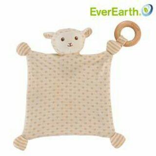 【德國EverEarth-有機棉】小羊安撫方巾( 福利品全新出清價)原價$1094特價$599 新北市