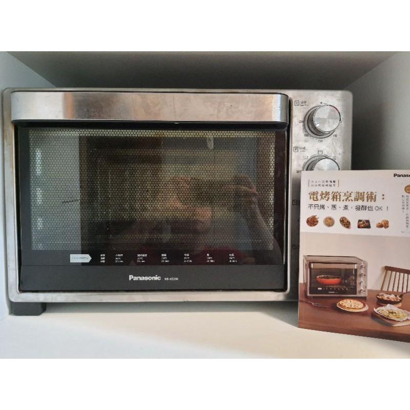二手 電烤箱 / 蒸烤爐/國際牌Panasonic烤箱 NB-H3200 32L 上下火獨立 發酵行程 旋轉燒烤