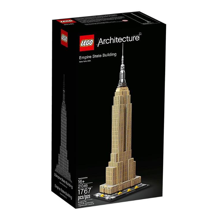 21046【LEGO 樂高積木】Archi系列-帝國大廈(3)
