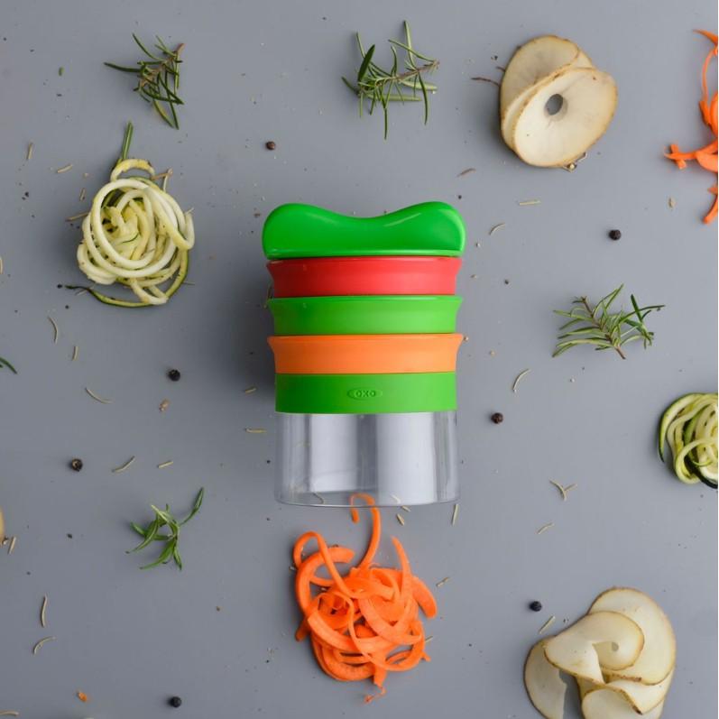 OXO 廚房系列 華麗三刀蔬果削鉛筆機 (原廠全新品,非福利品) 廚房用品 華麗三刀