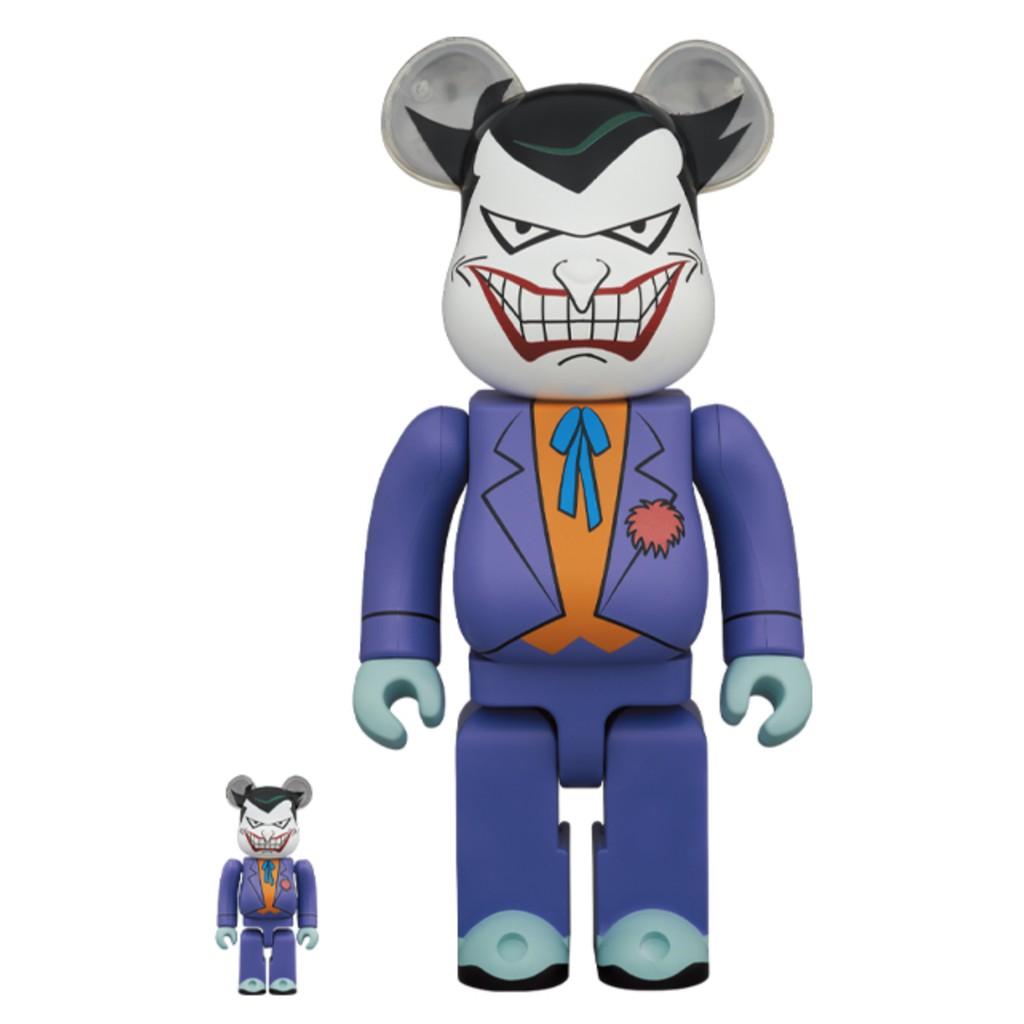 即將到貨 Be@rbrick 400% 100% THE JOKER (BATMAN Animated ) 小丑 蝙蝠俠