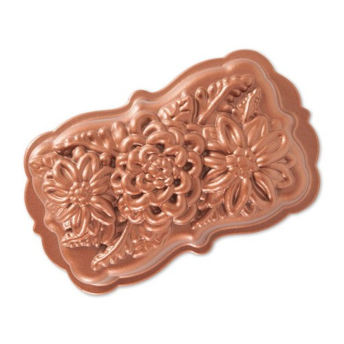 Nordicware 植物和鮮花烤膜(93148/蛋糕模)
