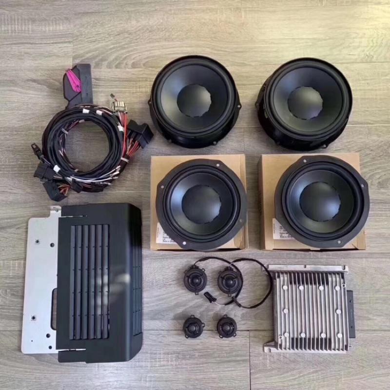 巨博汽車影音 福斯各車系原廠音響升級系統 丹麥DYNAUDIO 頂級音響組合 福斯喇叭 福斯擴大機 福斯音響線組 訂金