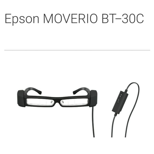 【全新品】Epson 智慧眼鏡 BT-30C