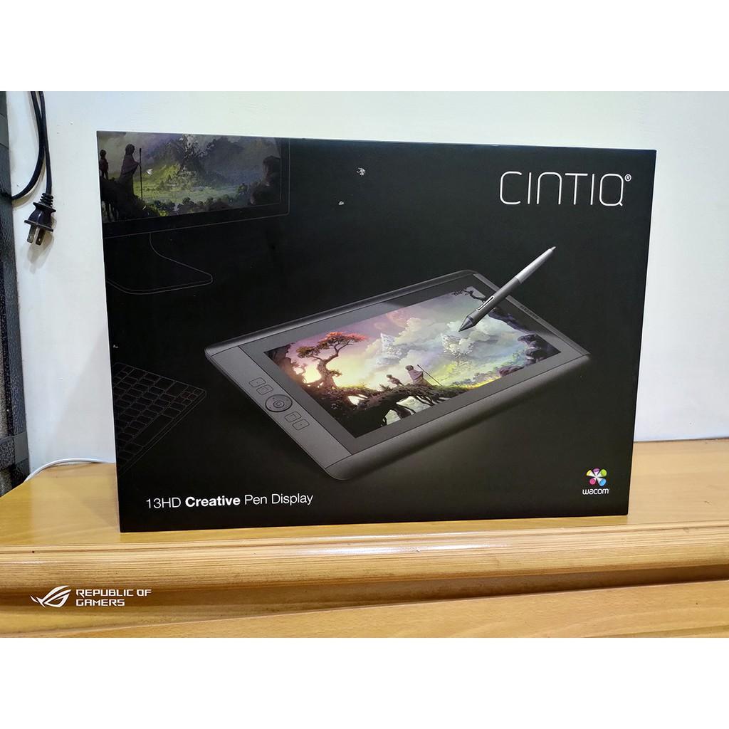 【二手良品】wacom cintiq 13HD 繪圖螢幕 2048感壓