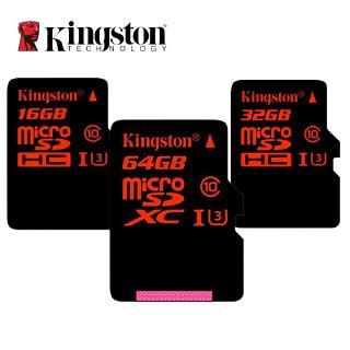 金士頓Micro SD卡C10 32GB 64GB Class 10 SDXC UHS-I U3存儲卡HD4K視頻微卡