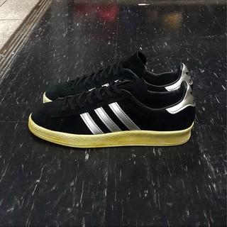 adidas CAMPUS 80s MITA 黑色 銀色 全黑 刷黃 刷舊 麂皮 薄鞋舌 日版 聯名款 Q21640 台北市