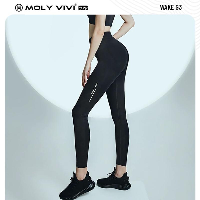 魔力薇薇MOLYVIVI夜光魔力褲G3春夏高腰打底褲女外穿瑜伽褲健身褲