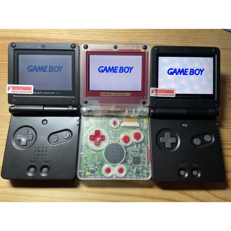 [ICHUN個人工作室]日版 客製翻新GameBoy GBA SP 普亮、高亮、ips