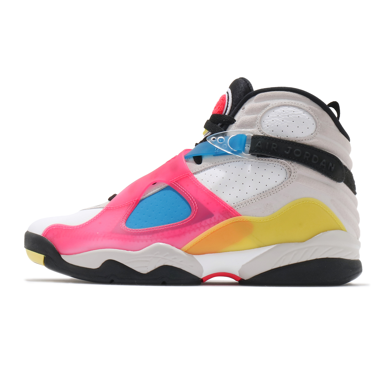 Nike Air Jordan 8 Retro SE 彩色 白 藍 粉紅 紅 喬丹 8代【ACS】 BQ7666-100
