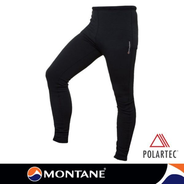 【Montane 英國 男 PU彈性保暖褲P/S Pro《黑》】MPUPR-BLA/登山內層褲/刷毛褲/保暖內/悠遊山水