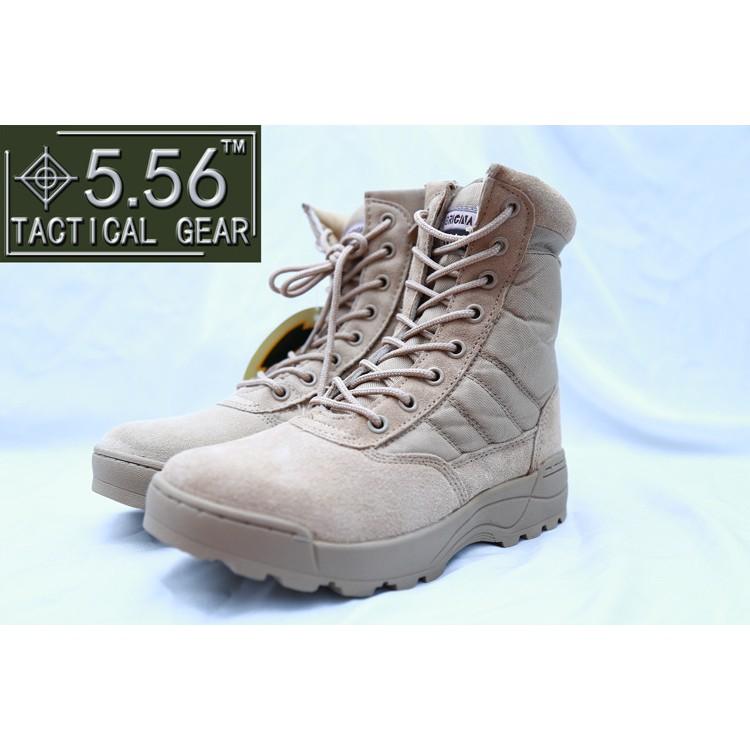 高品質透氣高幫男鞋作戰靴登山鞋夏令營拓展培訓沙漠靴戶外戰術靴