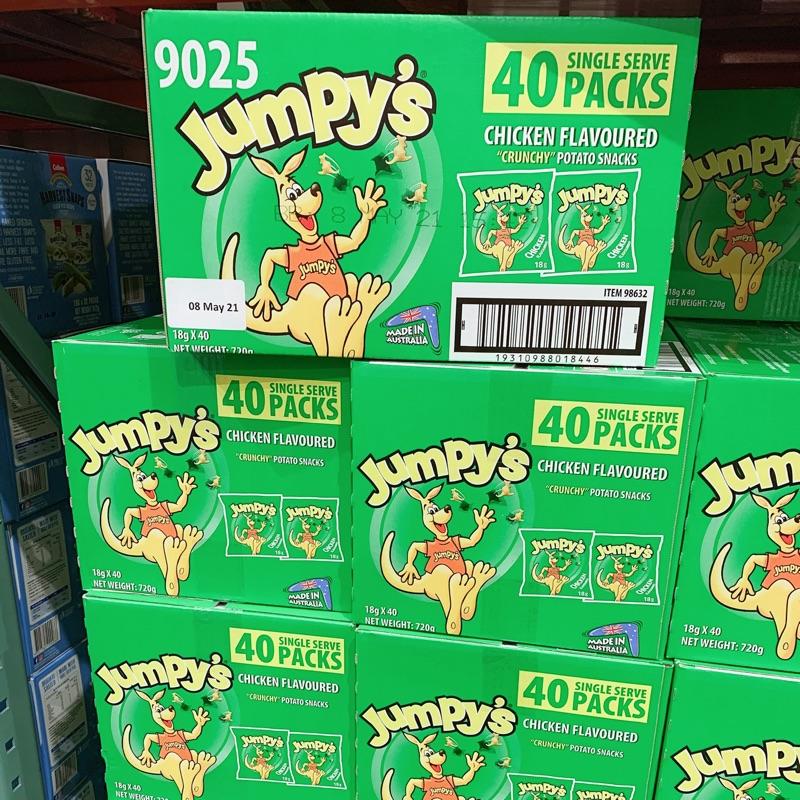 澳洲Jumpy's歡樂袋鼠雞汁口味澳洲袋鼠餅乾