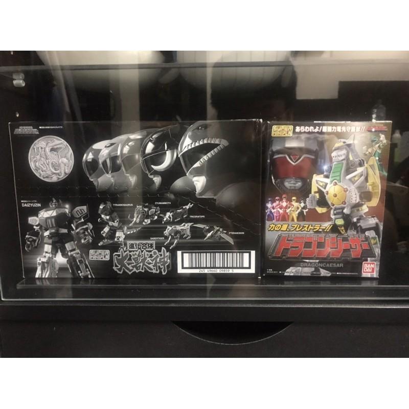Super minipla 大獸神 龍皇凱薩 金鋼戰士 進化合體 恐龍戰隊
