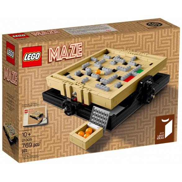 【麥斯與亞當】LEGO 21305 Maze