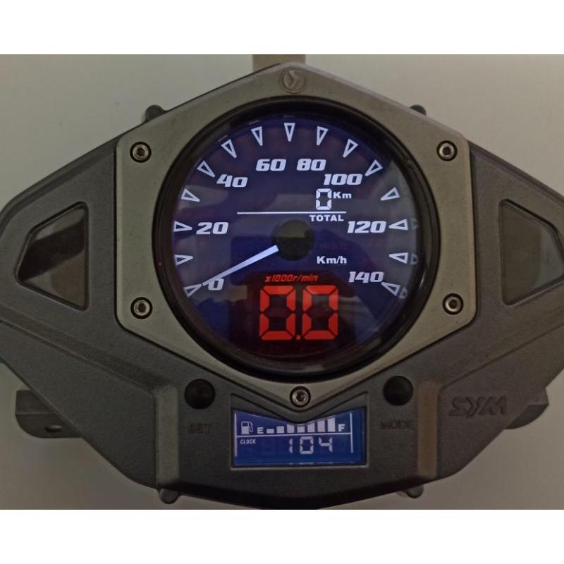 SYM 五代 Fighter 150 中古整新儀表 保固半年